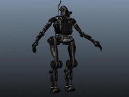 Titan robot 3d model