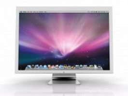 Apple cinema display 3d model
