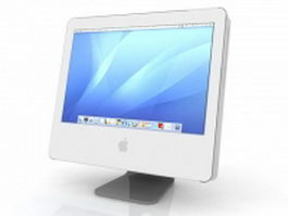 Apple monitor iMac G5 3d model