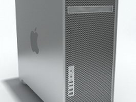 Apple Block mac 3d model