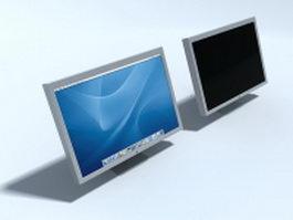 Apple computer monitor 3d model