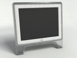 Mac monitor 3d model