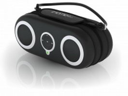 iHome IH19 portable iPod stereo sports case 3d model