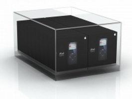 iPod boxes 3d model