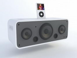iPod Hi-Fi 3d model