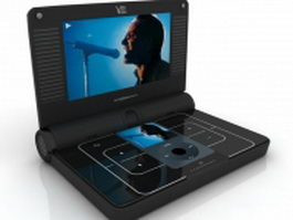 Sonic Impact V55 video player 3d model