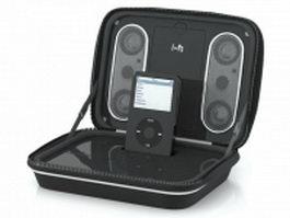 Sonic Impact i-F2 speaker 3d model