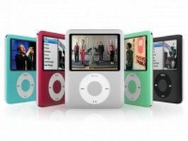 iPod Nano 3rd series 3d model