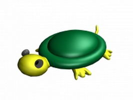 Tortoise cartoon 3d model