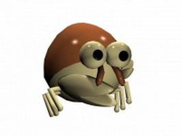 Cute crab 3d model