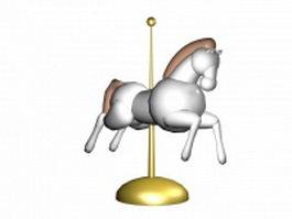 Craft Horse 3d model