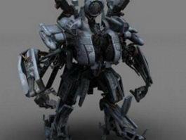Blackout Transformers 3d model