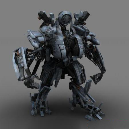 Blackout Transformers 3d Model 3ds Max Files Free Download