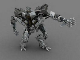 Decepticon starscream 3d model