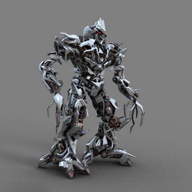 Decepticon Megatron 3d Model 3ds Max Files Free Download
