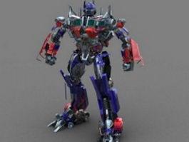 Autobot Optimus Prime 3d model