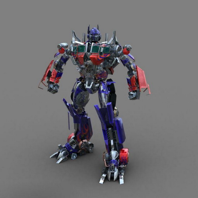 Autobot Optimus Prime 3d Model 3ds Max Files Free Download