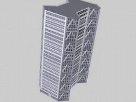 High-Rise office building 3d model