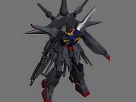 ZGMF-X13A Providence Gundam 3d model