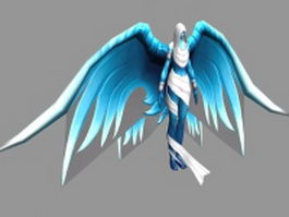 Spirit Healer 3d model