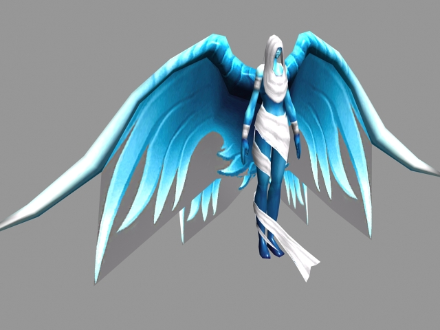 Spirit Healer 3d Model 3ds Max Files Free Download