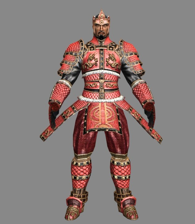 Ancient Samurai Warrior 3d Model 3ds Max Files Free