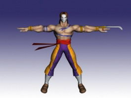 Vega in Street Fighter 3d model