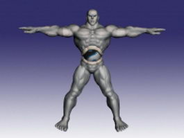 Seth in Street Fighter 3d model
