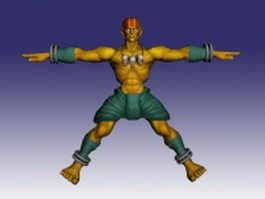 Dhalsim in Street Fighter 3d model