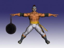 El Fuerte in Street Fighter 3d model