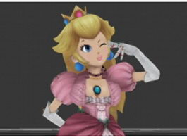 Peach Princess 3d model