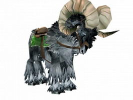 War Talbuk mount 3d model