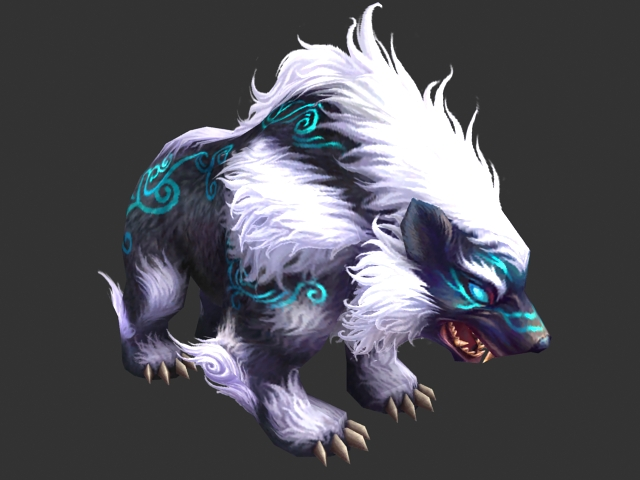 fantasy warrior bear 3d model 3ds max files free download