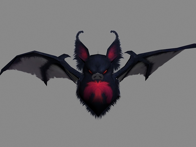 Vampire Bat 3d Model 3ds Max Files Free Download