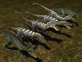Aucasaurus dinosaur 3d model