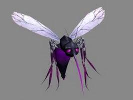 Monster mosquito 3d model