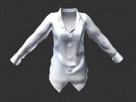 Women shirt 3d model