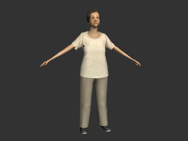 Low Poly Human Model Free Download