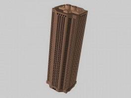 Block of flats 3d model