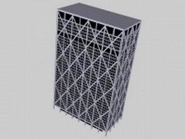 Frame building 3d model