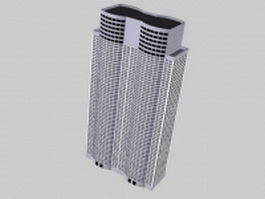 Tall office building 3d model