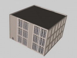 Teaching building 3d model