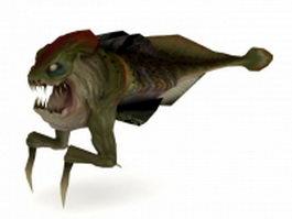Ichthyosaur half life 3d model