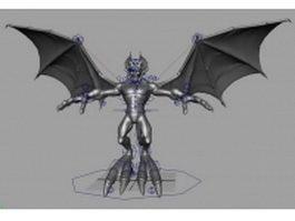 Devil rigged 3d model