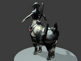 Centaur soul hunter 3d model