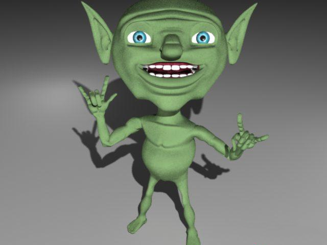 little goblin 3d model 3d studio 3ds max object files free download