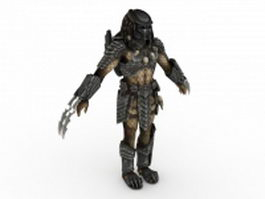 Celtic Predator 3d model