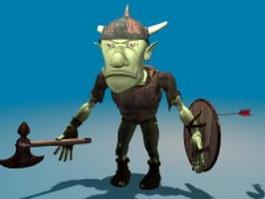 Nasty goblin 3d model