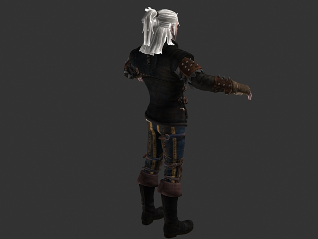 The Witcher 2 Assassins Of Kings 3d Model 3ds Max Files