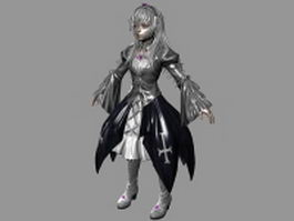 Alice in nightmare 3d model